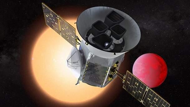 """Орбітальний телескоп виявив свою першу """"Землю"""""""