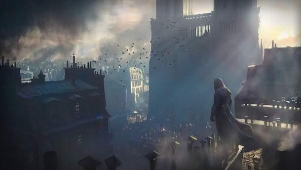 Разработчики Assassin's Creed Unity помогут отреставрировать Нотр-Дам де Пари