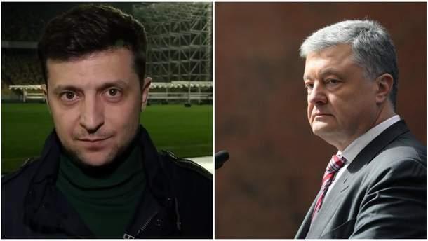 Порошенко и Зеленский: дебаты-2019