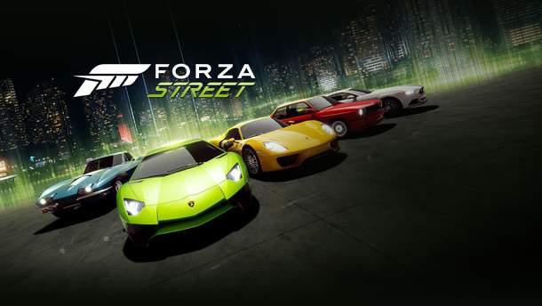 Microsoft представила безкоштовну гру Forza Street на PC, iOS та Android