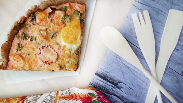 Киш Лорен – рецепт открытого пирога