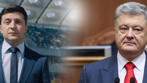 Зеленський і Порошенко проведуть дебати 19 квітня