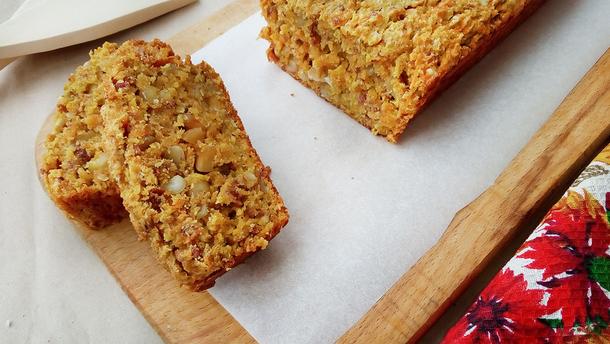 Моркв'яний кекс – рецепт десерту без яєць