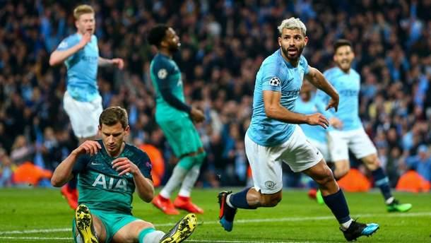 Манчестер Сіті - Тоттенхем огляд матчу та відео голів 20 квітня 2019