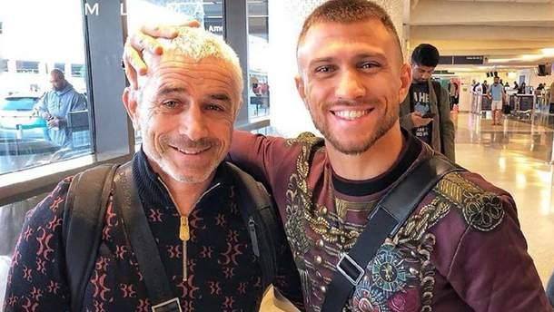 Василий Ломаченко с отцом Анатолием
