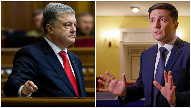 Перед фіналом: про що не говорять Зеленський і Порошенко у рекламі та програмах