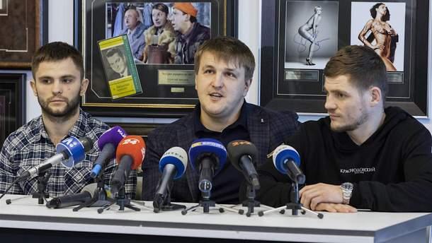 Александр Красюк и Денис Беринчик