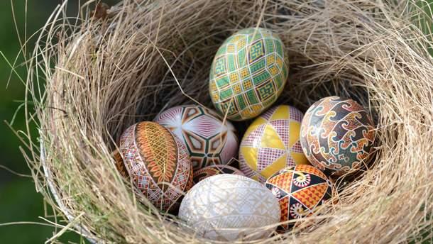 Как покрасить яйца на Пасху 2019 - зеленкой, куркумой, в горошек