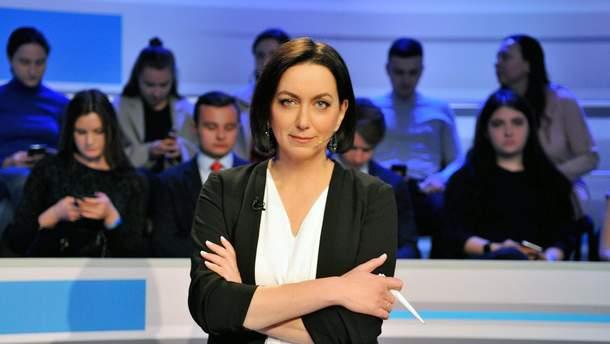 Ведущая дебатов на Общественном – Мирослава Барчук