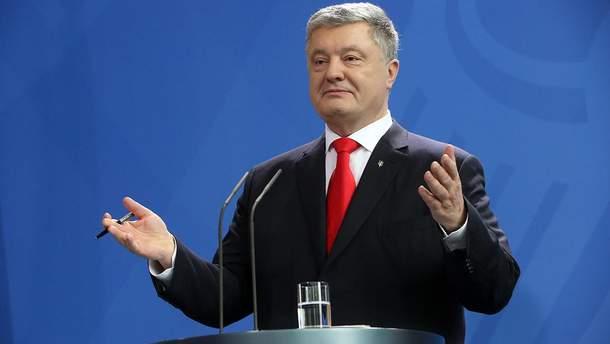 Петро Порошенко готовий підписати закон про мову