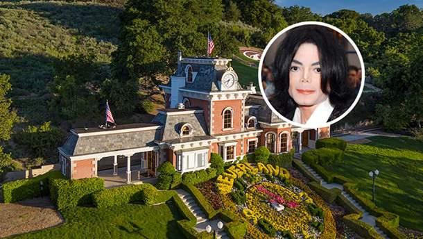 Маєток Майкла Джексона здешевів на 70 мільйонів доларів