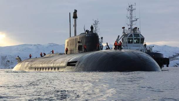 У Росії спустили на воду секретний підводний човен