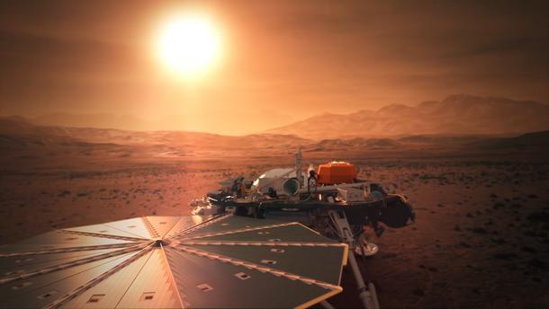 """На Марсе впервые зафиксировали """"землетрясение"""""""