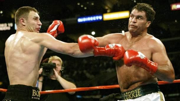День в історії – 15 років тому Кличко нокаутував Коррі Сандерса й завоював титул WBC: відео