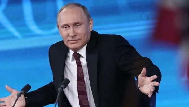 Путін пояснив паспортизацію жителів окупованого Донбасу