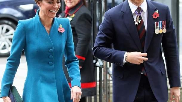 Кейт Миддлтон и принц Гарри