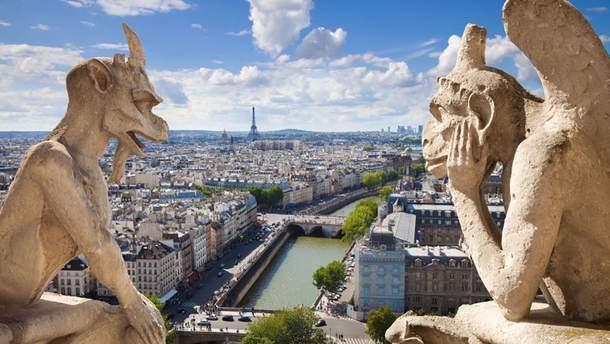 Гаргульи собора Парижской Богоматери