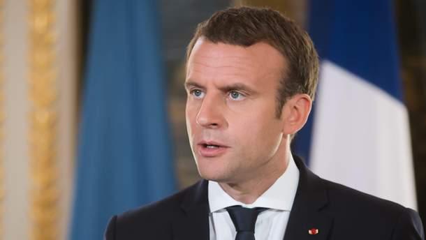 Президент Франції Макрон вважає, що кількість країн шенгенської зони слід зменшити