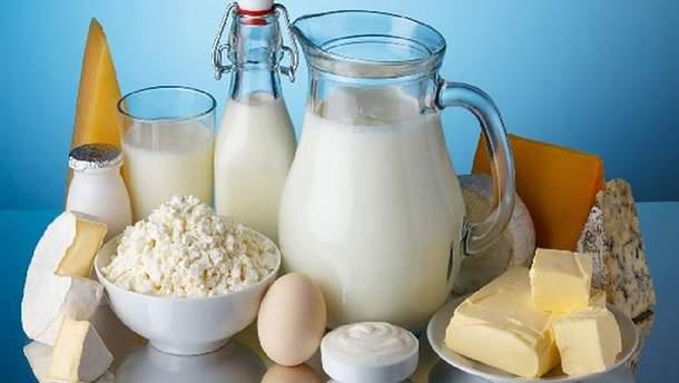 Как изменились в Украине цены на молочные продукты
