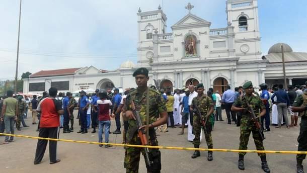 На Шри-Ланке из-за терактов погибли 359 человек