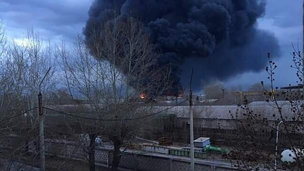 У Красноярську на заводі з виробництва стратегічних ракет спалахнула пожежа: очевидці говорять про вибух