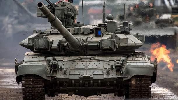 ОБСЕ обнаружила 57 вражеских танков возле Луганска (иллюстративное фото)