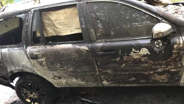 У Дніпрі спалили авто журналіста