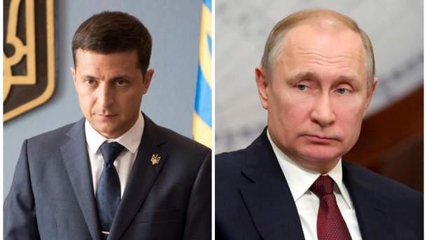 Путін хотів би поговорити з Зеленським про Донбас
