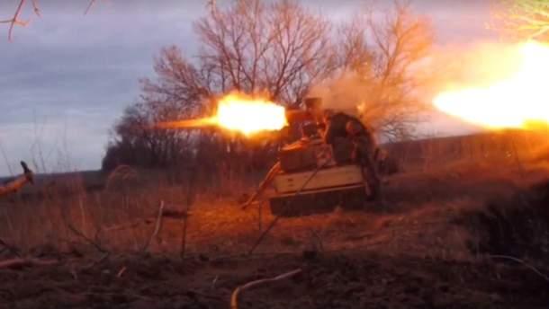 """Бійці """"Правого сектору"""" знищили укріплення окупантів"""
