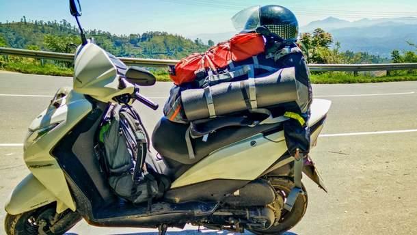 7 кілограмів вибухівки намагалися провезти у мотоциклі