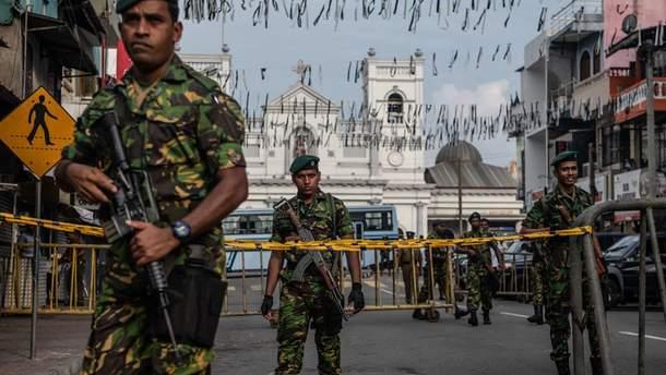 Теракти на Шрі-Ланці