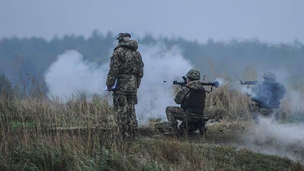 На Пасху боевики трижды обстреляли украинские позиции