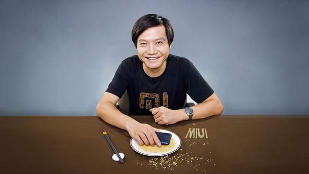 Генеральний директор Xiaomi  Xiaomi Лей Цзюнь