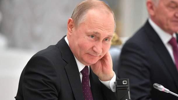 Путин заговорил на украинском в России