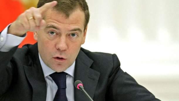 Медведев напомнил новой власти Украины о'газовых переговорах с Бойко и Медведчуком