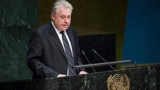 Ельченко напомнил ООН об угрозе размещения ядерного оружия в Крыму