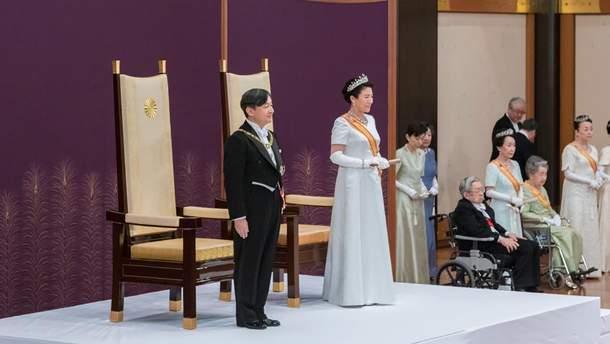 Церемония восшествия на престол Нарухито