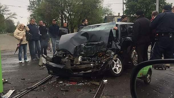 В аварии погиб военный