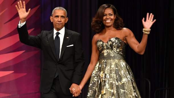 Мішель та Барак Обама