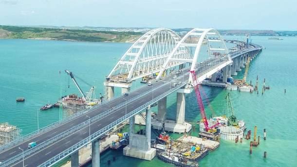 Оккупанты могут ввести ограничение скорости для Крымского моста