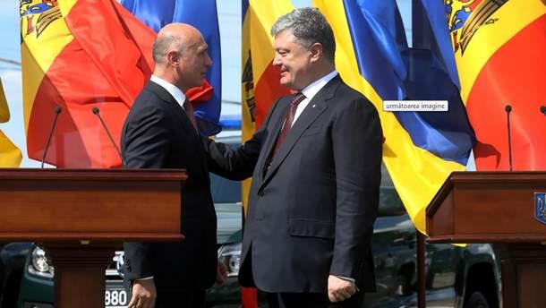 Прем'єр Молдови вмовив Порошенка зняти санкції з заводу Придністров'я, – ЗМІ