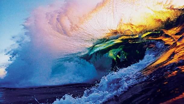 Океан как искусство – в сети ходят видео океана