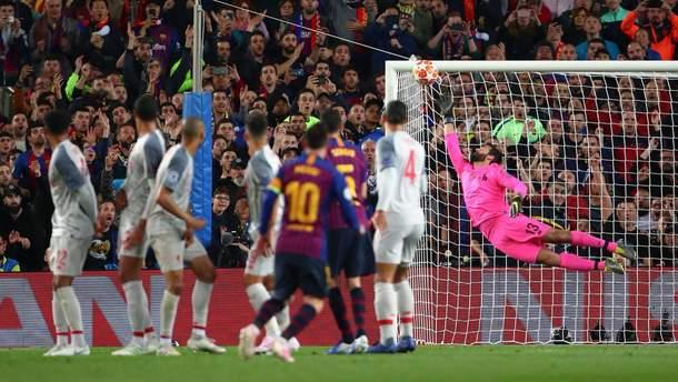 """Мессі забиває 600-ий гол за """"Барселону"""""""