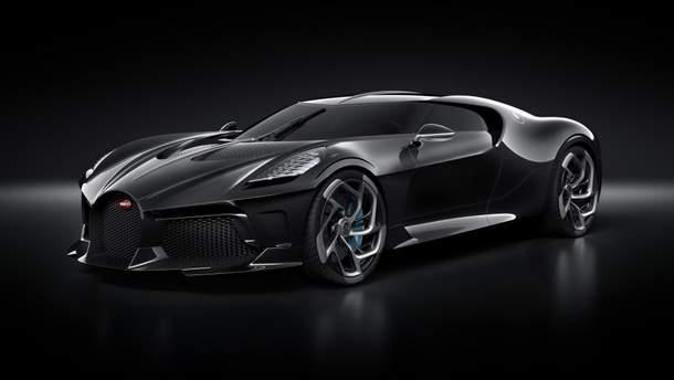 Роналду стал владельцем уникального Bugatti La Voiture Noire за 18 миллионов долларов: фото