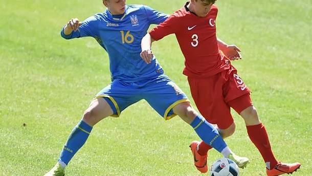 Турция победила сборную Украины