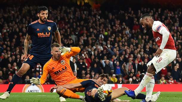 Арсенал – Валенсия: результат матча и видео голов