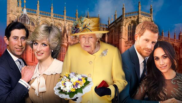 Скандальні шлюби та гучні розлучення у королівській сім'ї