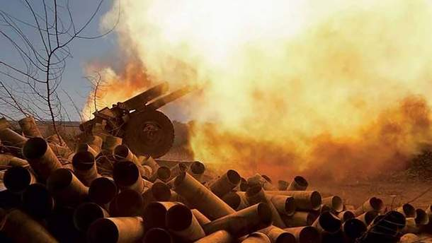 Ситуація на Донбасі: бойовики вели вогонь із забороненої мінськими угодами зброї