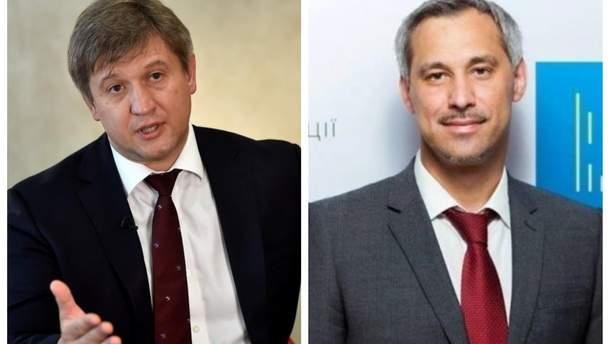 Советники Зеленского Данилюк и Рябошапка