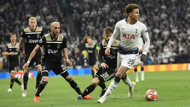 Аякс - Тоттенхэм где смотреть онлайн 8 мая 2019 - 1/2 Лига чемпионов